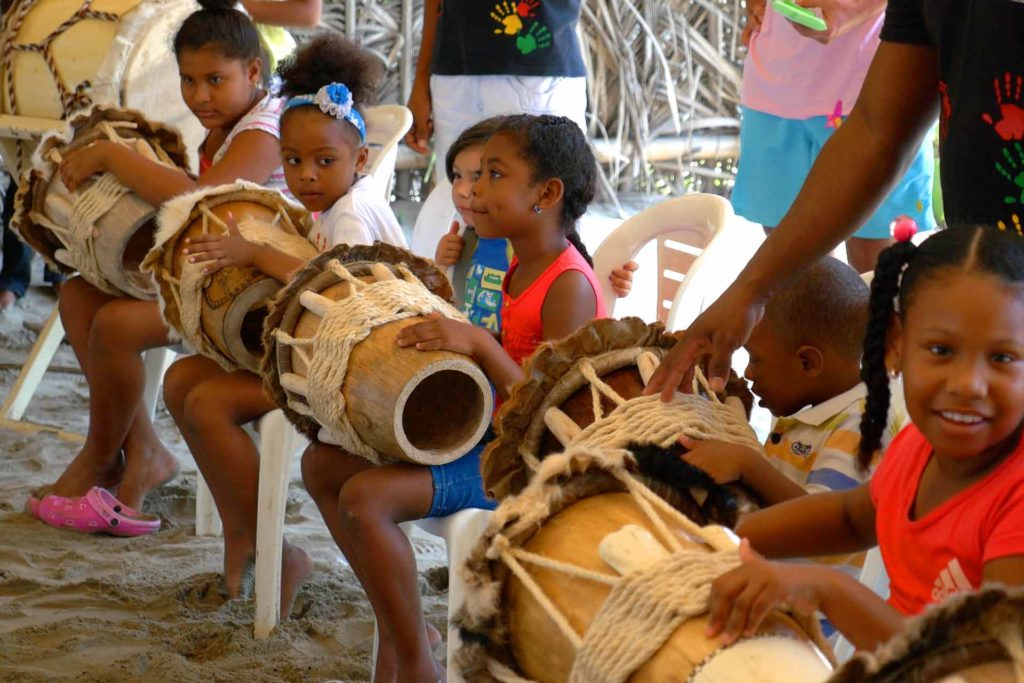 Enfants afro-colombiens